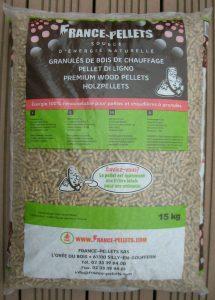 1 sac de 15kg de Pellet de bois